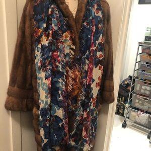 Halogen wool multi color scarf
